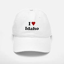 I Love Idaho Baseball Baseball Cap