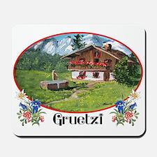 Swiss Gruetzi Mousepad