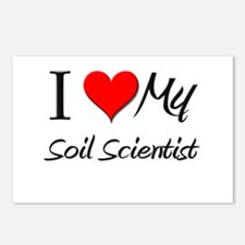 I Heart My Soil Scientist Postcards (Package of 8)