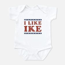 I Like Ike Infant Bodysuit