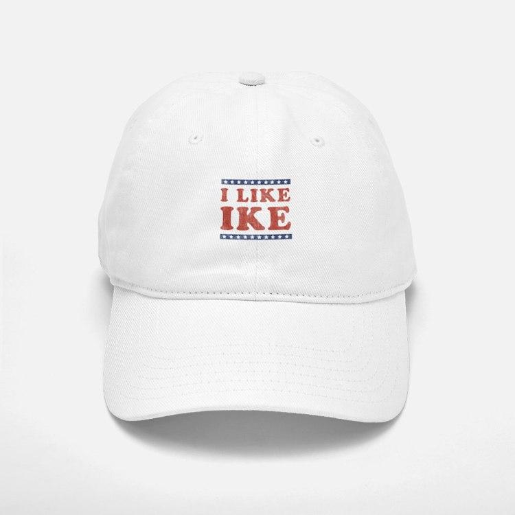 I Like Ike Baseball Baseball Cap