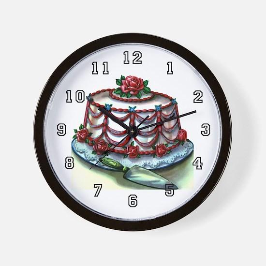 Baker Wall Clock