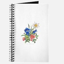 Alpine Flowers Journal