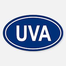 UVA Oval Decal