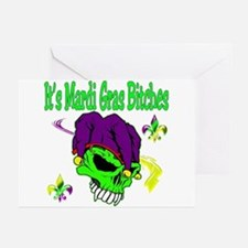 It's Mardi Gras Bitches Greeting Cards (Pk of 10)
