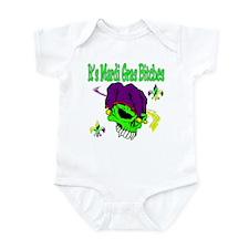 It's Mardi Gras Bitches Infant Bodysuit