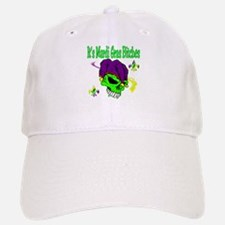It's Mardi Gras Bitches Baseball Baseball Cap