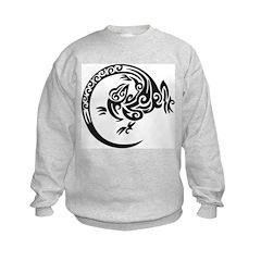 Tribal Lizard Sweatshirt