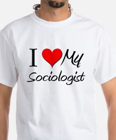 I Heart My Sociologist Shirt