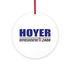 Hoyer 2008 Ornament (Round)