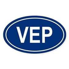VEP Oval Decal