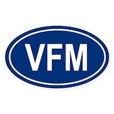 VFM Oval Decal