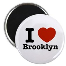 """I love Brooklyn 2.25"""" Magnet (100 pack)"""