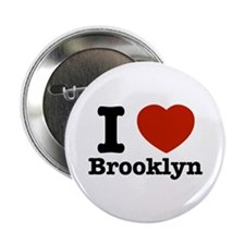 "I love Brooklyn 2.25"" Button"