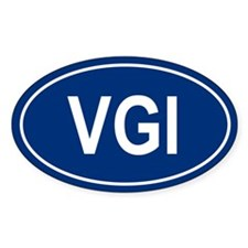 VGI Oval Decal