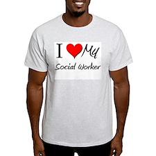 I Heart My Social Worker T-Shirt
