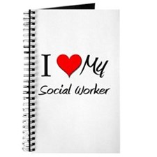 I Heart My Social Worker Journal