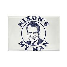 Nixon's My Man T-Shirt Rectangle Magnet
