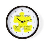 Autism therapist Wall Clocks