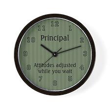 School Principal Wall Clock