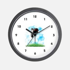 Postal Worker Wall Clock
