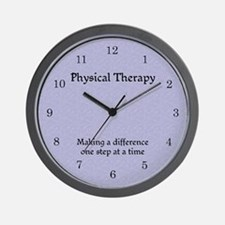 Physical Therapy Wall Clock