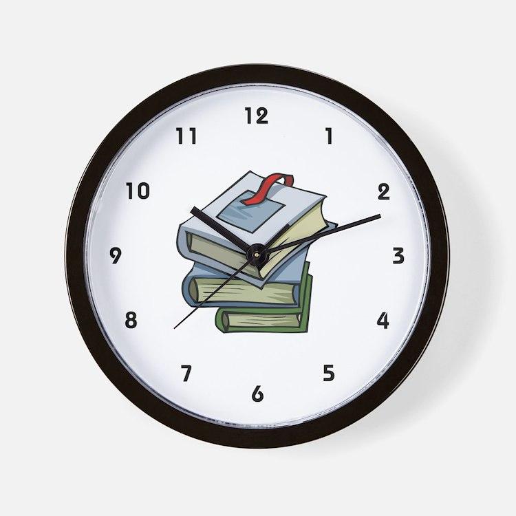 Librarian Wall Clock