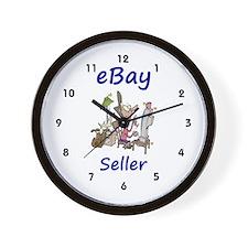 eBay Seller Wall Clock