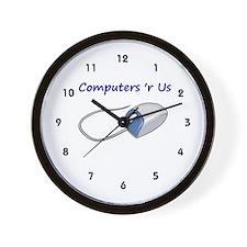 Computer Tech Wall Clock