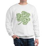 Shamrock Skull St Patricks Day Sweatshirt