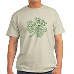 Shamrock Skull St Patricks Day Light T-Shirt