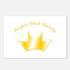 Perfect Pitch Society Gold Crown Postcards (8)