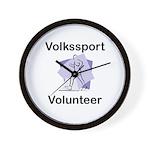 Volkssport Volunteer Wall Clock