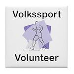 Volkssport Volunteer Tile Coaster
