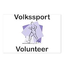 Volkssport Volunteer Postcards (Package of 8)