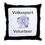 Volkssport Volunteer Throw Pillow