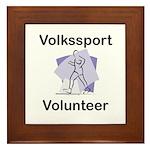 Volkssport Volunteer Framed Tile