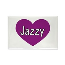 Jazzy Rectangle Magnet