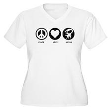 Peace Love Nessie T-Shirt