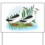 Magpie Drake and Duck Yard Sign