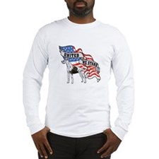 Great Dane United We Stand American Flag Long Slee