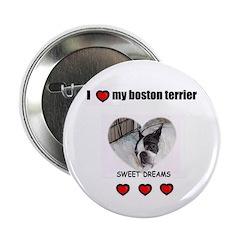 SWEET DREAMS BOSTON TERRIER 2.25
