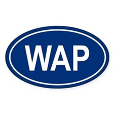 WAP Oval Decal