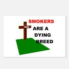 SMOKERS GRAVE Postcards (Package of 8)