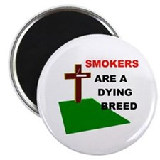 """SMOKERS GRAVE 2.25"""" Magnet (100 pack)"""