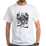 Steel Coat of Arms White T-Shirt
