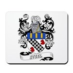 Steel Coat of Arms Mousepad