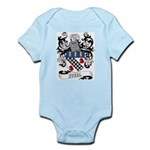Steel Coat of Arms Infant Creeper