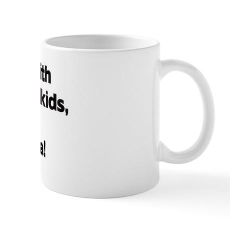 Don't Mess with YiaYia's Grandkids! Mug