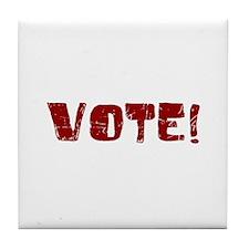 VOTE 2008 Tile Coaster